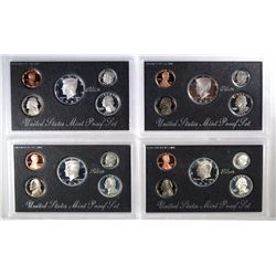 1992-1995 Silver Proof Sets