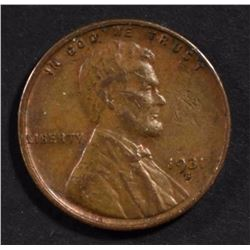 1931-S LINCOLN CENT  XF