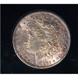 1887-O MORGAN SILVER DOLLAR GEM BU