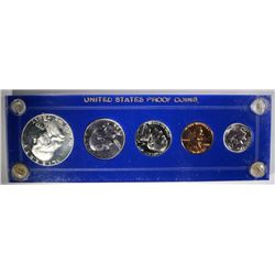 1955 GEM PROOF SET, 50C OBVERSE CAMEO