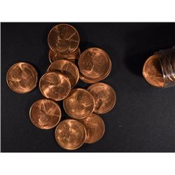 BU ROLL OF 1947-S LINCOLN CENTS