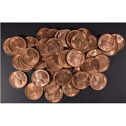 BU ROLL OF 1950 LINCOLN CENTS