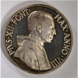 SILVER POPAL MEDAL POPE PIUS XII ANNO VIII