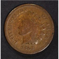 1866 INDIAN CENT GOOD, KEY DATE