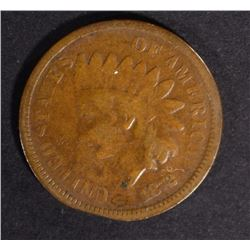 1872 INDIAN CENT GOOD - KEY DATE