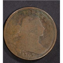 1797 DRAPED BUST LARGE CENT AG/G