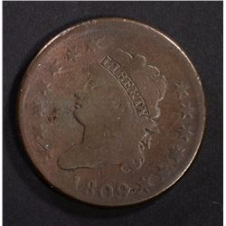 1809 CLASSIC HEAD LARGE CENT VG - KEY DATE