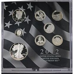 2012 United States Mint Limited Edition Silver Pro