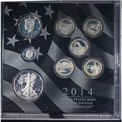 2014 United States Mint Limited Edition Silver Pro