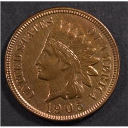 1905 INDIAN HEAD CENT, CH BU