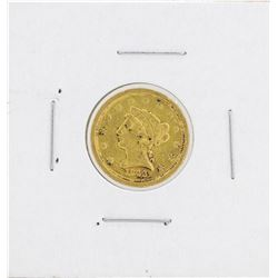1843-O $2 1/2 Liberty Head Quarter Eagle Gold Coin