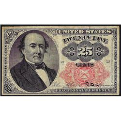 1874 Twenty Five Cents Fifth Issue Fractional Currency Note