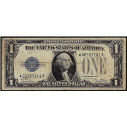 1928 $1 Silver Certificate STAR Note