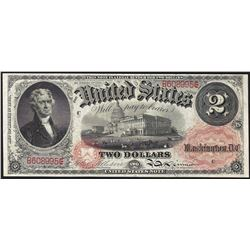 1874 $2 Legal Tender Note