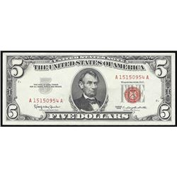 1963 $5 Legal Tender Note