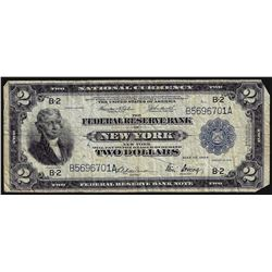 1918 $2 Federal Reserve Bank Note