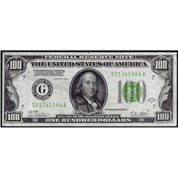 1928A $100 Federal Reserve Note