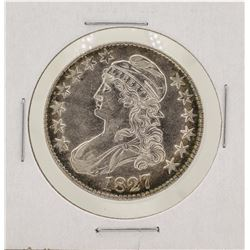 1827 Capped Bust Half Dollar Silver Coin