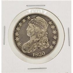 1830 Capped Bust Half Dollar Silver Coin