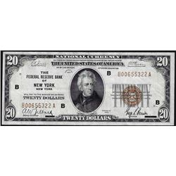 1929 $50 The Federal Reserve Bank of New York National Currency Note