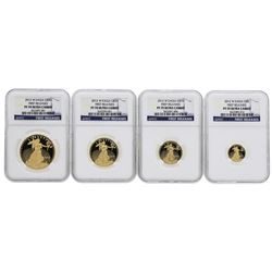 2012-W American Gold Eagle Proof Set NGC PF70 Ultra Cameo