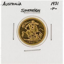 1931-P Australia Gold Sovereign Coin