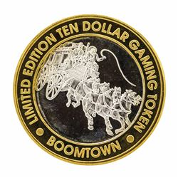 .999 Silver Boomtown Hotel & Casino Verdi, NV $10 Limited Edition Gaming Token