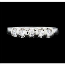Platinum Ladies 0.40ctw Diamond Ring