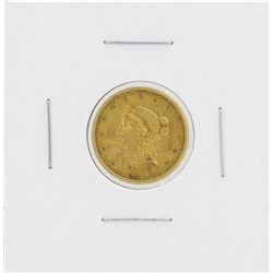 1852-O $2 1/2 Liberty Head Quarter Eagle Gold Coin