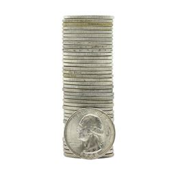 Roll of (40) 1948-D Brilliant Uncirculated Washington Quarters