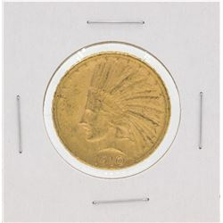 1910 $10 Indian Head Eagle Gold Coin