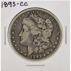 1893-CC $1 Morgan Silver Dollar Coin