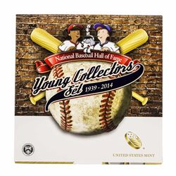 2014 National Baseball Hall Of Fame Young Collectors Set Half Dollar Coin