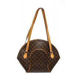 Louis Vuitton Monogram Canvas Leather Ellipse GM Bag