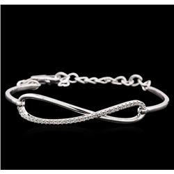 0.33 ctw Diamond Bracelet - 14KT White Gold