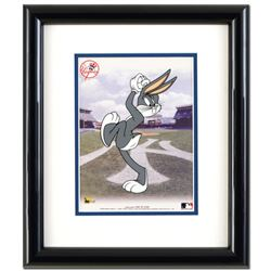 Bugs Bunny Pitching with the Yankees