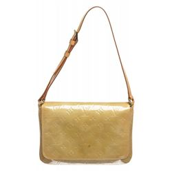 Louis Vuitton Beige Vernis Leather Monogram Thompson Street Bag