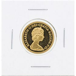 1980 Gold Sovereign Coin