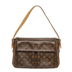 Louis Vuitton Monogram Canvas Leather Viva Cite GM Bag