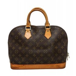 Louis Vuitton Monogram Canvas Leather Alma Handbag