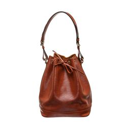 Louis Vuitton SIenna Brown Epi Leather Noe PM Drawstring Shoulder Bag