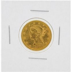 1879-S $5 Liberty Head Half Eagle Gold Coin