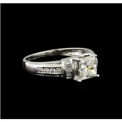1.42 ctw Diamond Ring - 14KT White Gold
