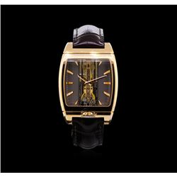 Corum 18KT Rose Gold Golden Bridge Automatique Watch