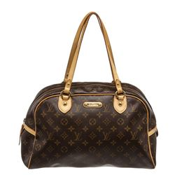 Louis Vuitton Monogram Canvas Leather Monogram Montorgueil GM Bag