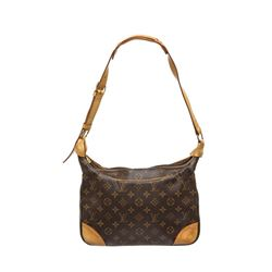 Louis Vuitton Monogram Canvas Leather Boulogne 30 PM Bag