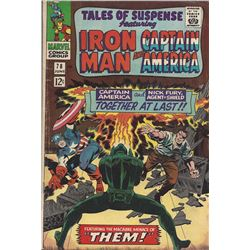 Tales of Suspense featuring Iron Man and Captain America #78
