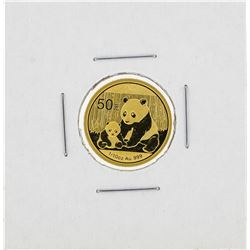 2012 China 1/10 oz 50 Yuan Gold Panda Coin
