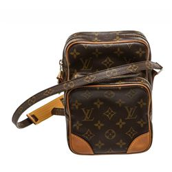 Louis Vuitton Monogram Canvas Leather Amazon Crossbody Bag