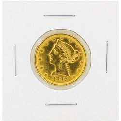 1897 $5 Liberty Head Gold Coin